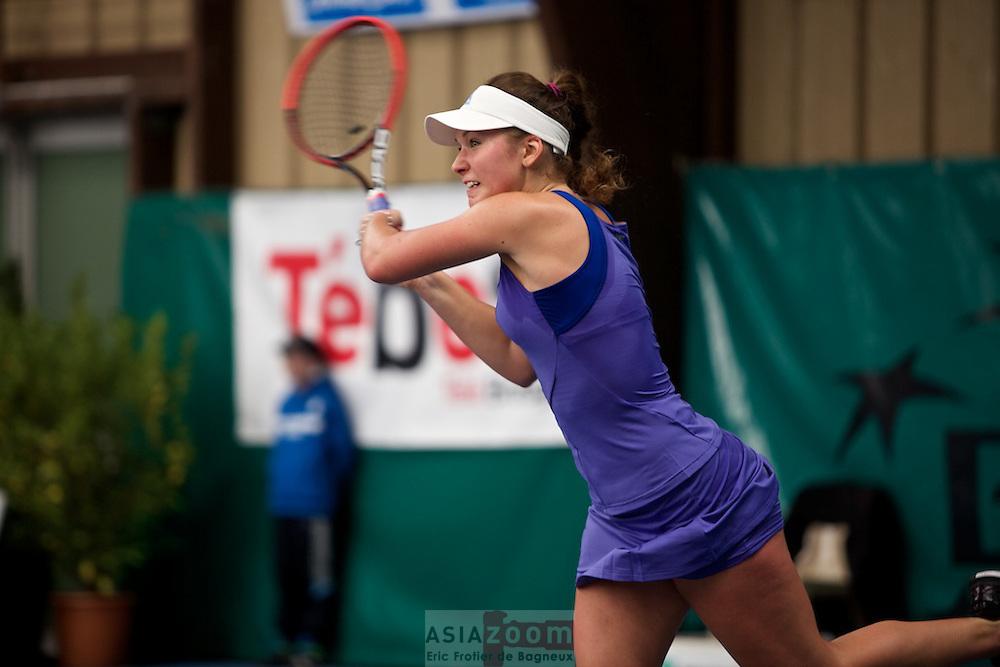 Finale Femmes du 23 ème Open de Tennis BNP Paribas, Banque de Bretagne. Vannes, Morbihan