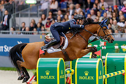 BICOCCHI Emilio (ITA), Evita SG Z<br /> Genf - CHI Geneve Rolex Grand Slam 2019<br /> Rolex Grand Prix<br /> Internationale Springprüfung mit Stechen<br /> International Jumping Competition 1m60<br /> Grand Prix Against the Clock with Jump-Off<br /> 15. Dezember 2019<br /> © www.sportfotos-lafrentz.de/Stefan Lafrentz