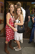 Andrea and charlotte Dellal. Gala Charity premiere of 'On A Clear Day' in aid of the NSPCC. The Screen on the Hill, Haverstock Hill, London. 31 August 2005. ONE TIME USE ONLY - DO NOT ARCHIVE  © Copyright Photograph by Dafydd Jones 66 Stockwell Park Rd. London SW9 0DA Tel 020 7733 0108 www.dafjones.com