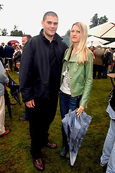 LADY ALEXANDRA GORDON-LENNOX and JULIAN DRAPER at the Cartier Style Et Luxe at the Goodwood Festival of Speed, Goodwood House, West Sussex on 24th June 2007.<br />