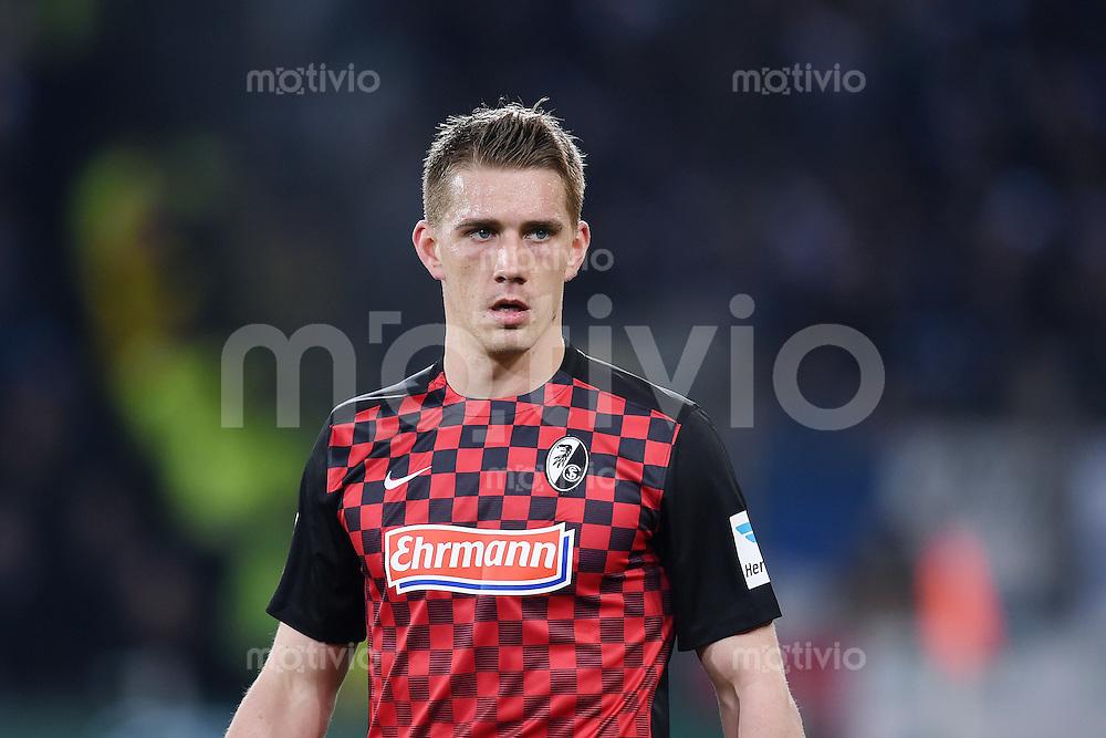 Fussball  2. Bundesliga  Saison 2015/2016  27. Spieltag SC Freiburg - Karslruher SC        13.12.2015 Nils Petersen (SC Freiburg)