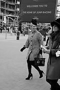 ZARA PHILLIPS; AMANDA BUSH, The Cheltenham Festival Ladies Day. Cheltenham Spa. 11 March 2015