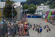 Start of the F1 Superbike race at the Cemetery Circuit Road Races, Wanganui, Boxing Day which was the 3rd and final round of the 2014 Suzuki Series