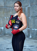 Outside of boxing, I am a strength and conditioning coach. I love working with all athletes. Also, I do love helping people, so I am a mentor to help young adults stay on the right track. As a little girl, my older brother would always teach me how to protect myself. Like many people, I have been through a lot growing up. (Side note: I have stories... I don't know if you want them). I needed another outlet to express myself and I've always loved boxing. Competitively, I have been boxing for a year. I can still express myself so it hasn't changed but reasons have been added. I want to help female boxing grow! There are so many female world champions that people don't know about. I want them to be known/recognized for their greatness! Boxing is very empowering. Many people look up to me because of it. Women and men tell me that I am empowering, motivating and inspiring. As a woman, it makes me feel amazing knowing that I can help other people just by boxing.