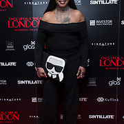 Sandi Bogle Arrivers at Once Upon a Time in London - London premiere of the rise and fall of a nationwide criminal empire that paved the way for notorious London gangsters the Kray Twins and the Richardsons at The Troxy 490 Commercial Road, on 15 April 2019, London, UK.
