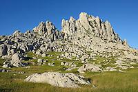 Tulove Grede rock formations, Velebit Nature Park, Rewilding Europe rewilding area, Velebit  mountains, Croatia