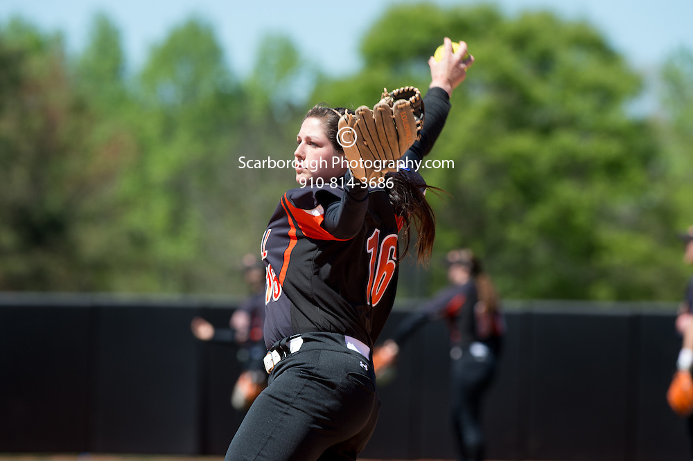 BUIES CREEK, NC - April 3rd, 2016 Campbell University Softball vs Presbyterian