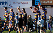 BOP players celebrate their victory surrounded by young fans on the pitch after the Air New Zealand Cup rugby match between Waikato and Bay of Plenty won by BOP 32-16 at Bay Park Stadium, Tauranga, New Zealand, Saturday 22 August 2009. Photo: Stephen Barker/PHOTOSPORT