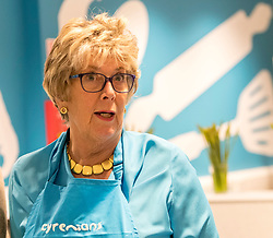 Great British Bake of Judge, Prue Leith opens the Cyrenians Cook School in Leith near Edinburgh.<br /> <br /> The Cyrenians are a Scottish based charity working with the vulnerable and homeless.