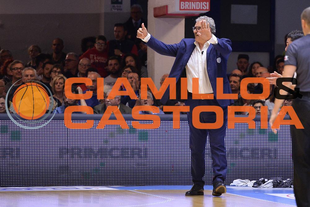 Sacchetti Meo<br /> Enel Brindisi - EA7 Emporio Armani Milano<br /> BASKET Serie A 2016-2017<br /> Brindisi 15/04/2017<br /> FOTO CIAMILLO / M.Longo