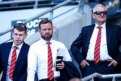 Bristol City CEO Mark Ashton and Bristol City owner Steve Lansdown - Mandatory by-line: Robbie Stephenson/JMP - 24/08/2019 - FOOTBALL - KCOM Stadium - Hull, England - Hull City v Bristol City - Sky Bet Championship