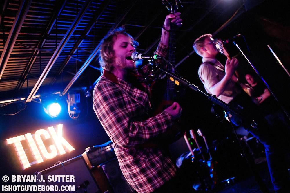 Providence, Rhode Island indie alt-country dudes Deer Tick played to a sold out room at The Firebird in Saint Louis, Missouri on May 16th, 2012. Nashville's gnarly garage rockers Turbo Fruits and indie poppers Teenage Mysticism opened up the shindig.