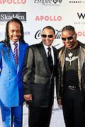 Earth, Wind & Fire at The Apollo Theater 4th Annual Hall of Fame Induction Ceremony & Gala with production design by In Square Circle Design Concepts, held at The Apollo Theater on June 2, 2008