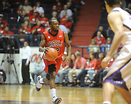 "Mississippi's Chris Warren (12) vs. LSU at the C.M. ""Tad"" Smith Coliseum on Thursday, March 4, 2010 in Oxford, Miss. Ole Miss won 72-59."