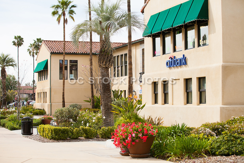 Old School House Shopping Center in Claremont California