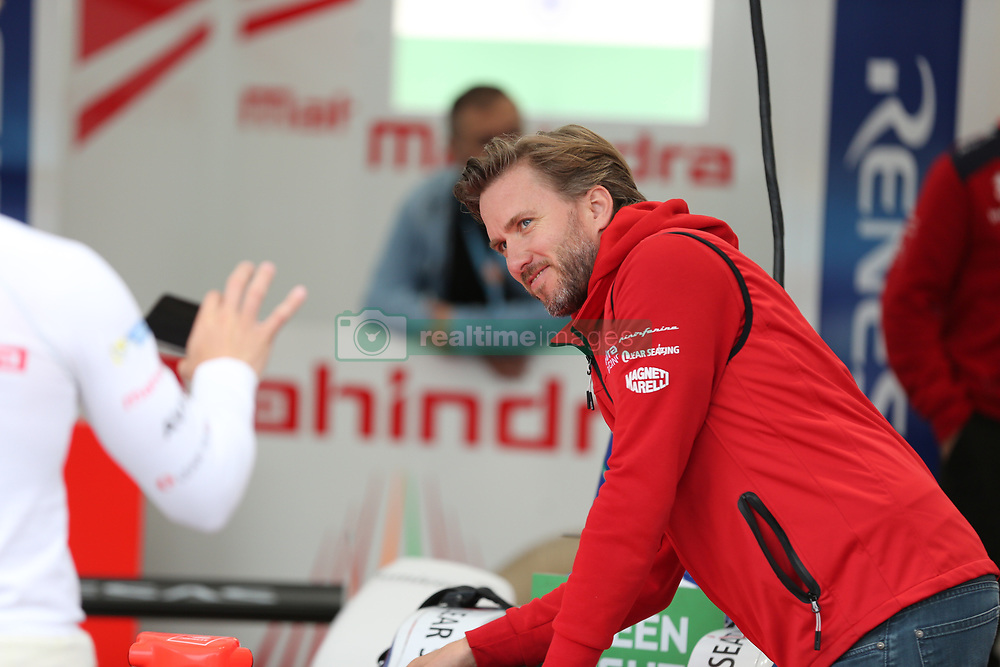 May 18, 2018 - Berlin, Germany - Formula e Berlin ePrix: The photo shows the racing driver Nick Heidfeld. (Credit Image: © Simone Kuhlmey/Pacific Press via ZUMA Wire)
