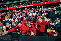 ADELAIDE, AUSTRALIA - Monday, July 20, 2015: Liverpool supporters after a preseason friendly match against Adelaide United at the Adelaide Oval on day eight of the club's preseason tour. (Pic by David Rawcliffe/Propaganda)