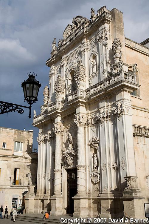 Chiesa del Rosario by lo Zingarello, Lecce, Apulia, Italy