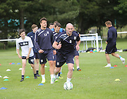 Paul McPake leads the way - Dundee FC first day back<br />  - &copy; David Young<br /> <br />  - www.davidyoungphoto.co.uk - email: davidyoungphoto@gmail.com
