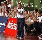 DESCRIZIONE : BORMIO TORNEO PREPARAZIONE EUROPEI 2005<br /> GIOCATORE : RECALCATI<br /> SQUADRA : ITALIA NAZIONALE<br /> EVENTO : TORNEO PREPARAZIONE EUROPEI 2005 <br /> GARA : ITALIA-TURCHIA<br /> DATA : 13/08/2005<br /> CATEGORIA : <br /> SPORT : Pallacanestro<br /> AUTORE : Agenzia Ciamillo-Castoria/Elisa Pozzo