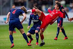 28-01-2018 NED: FC Utrecht - AFC Ajax, Utrecht<br /> Lukas Gortler #27 of FC Utrecht, Matthijs de Ligt #4 of Ajax