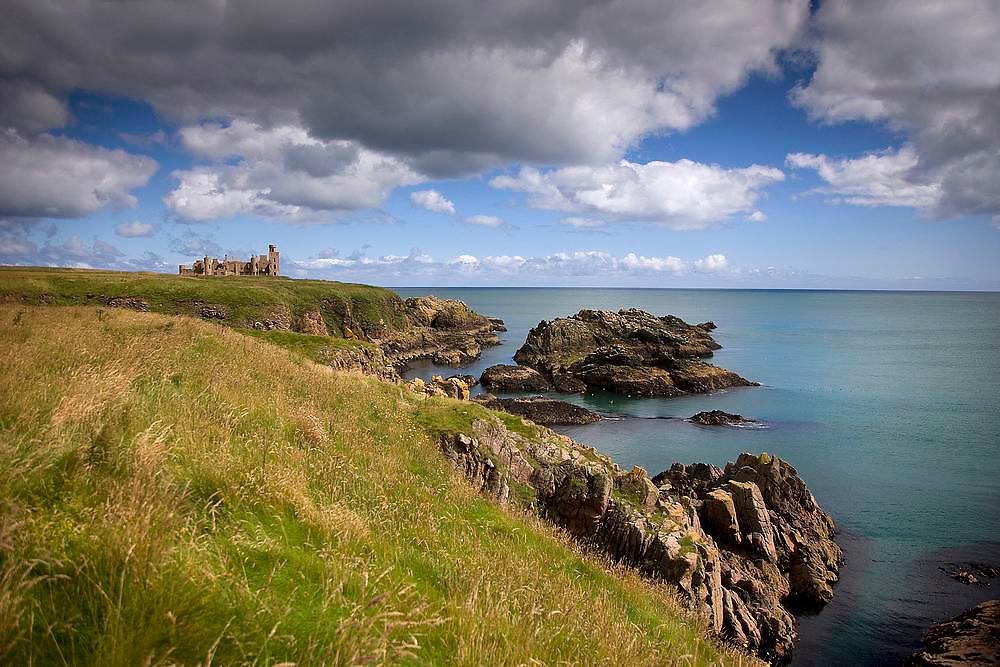 Slains Castle,  Aberdeenshire