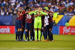 July 19, 2017 - Philadelphia, PA, USA - Philadelphia, PA - Wednesday July 19, 2017: USMNT starting eleven during a 2017 Gold Cup match between the men's national teams of the United States (USA) and El Salvador (SLV) at Lincoln Financial Field. (Credit Image: © Brad Smith/ISIPhotos via ZUMA Wire)