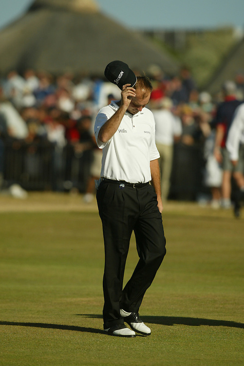 Thomas Bjorn..2003 British Open..Fourth Round..Royal St. George's Golf Club..Sandwich, Kent, England..Sunday, July 20  2003..photograph by Darren Carroll