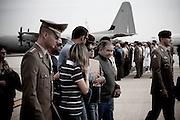 CIAMPINO. I PARENTI DEI MILITARI CADUTI IN AFGHANISTAN A SEGUITO DELLE SALME