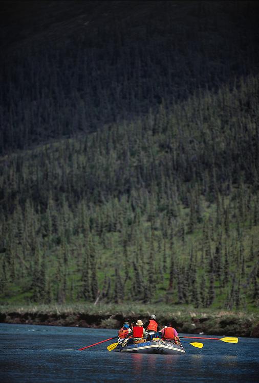 River Rafting, Yukon, Canada