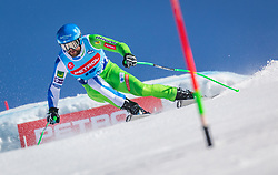 Kline Bostjan from Slovenia during the downhill of Open National Championship of Slovenia 2019, on March 30, 2019, on Krvavec, Slovenia. Photo by Urban Meglic / Sportida