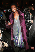 Constance White at the 2010 Mercedes Benz Fall Fashion Week held at Bryant Park on February 12, 2010 in New York City