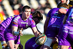 Ebbw Vale's Dai Jones in action - Mandatory by-line: Craig Thomas/Replay images - 04/02/2018 - RUGBY - Rodney Parade - Newport, Wales - Newport v Ebbw Vale - Principality Premiership