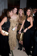 NATALIE MASSENET; FLORENCE WELCH; CARA DELEVIGNE, Harper's Bazaar Women Of the Year Awards 2011. Claridges. Brook St. London. 8 November 2011. <br /> <br />  , -DO NOT ARCHIVE-© Copyright Photograph by Dafydd Jones. 248 Clapham Rd. London SW9 0PZ. Tel 0207 820 0771. www.dafjones.com.