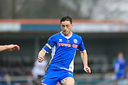 Ian Henderson during the Sky Bet League 1 match between Rochdale and Bury at Spotland, Rochdale, England on 12 March 2016. Photo by Daniel Youngs.