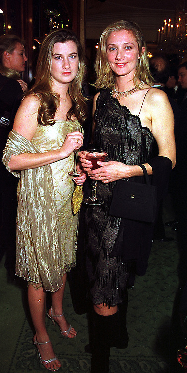 Left to right, MISS KATHARINE GRIMOND and her sister actress JOELLI RICHARDSON daughter of actress Vanessa Redgrave, at a party in London on 1st December 1999.MZR 38