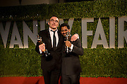 DANNY BOYLE;  Resul Pookutty, Vanity Fair Oscar night party hosted by Graydon Carter.  Sunset  Tower Hotel, West Hollywood. 22 February 2009.