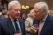 SIMON DOUGHTY; FILED MARSHALL LORD GUTHRIE, Book launch for The Speedicut Papers, edited by Christopher Joll.- Bucks Club, Clifford St. London W1.