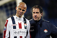 Onderwerp/Subject: Willem II - Eredivisie<br /> Reklame:  <br /> Club/Team/Country: <br /> Seizoen/Season: 2012/2013<br /> FOTO/PHOTO: Condition Trainer Henri VAN AMELSFORT (R) of Willem II with Philipp HAASTRUP (L) of Willem II. (Photo by PICS UNITED)<br /> <br /> Trefwoorden/Keywords: <br /> $94 ±1355238911262<br /> Photo- & Copyrights © PICS UNITED <br /> P.O. Box 7164 - 5605 BE  EINDHOVEN (THE NETHERLANDS) <br /> Phone +31 (0)40 296 28 00 <br /> Fax +31 (0) 40 248 47 43 <br /> http://www.pics-united.com <br /> e-mail : sales@pics-united.com (If you would like to raise any issues regarding any aspects of products / service of PICS UNITED) or <br /> e-mail : sales@pics-united.com   <br /> <br /> ATTENTIE: <br /> Publicatie ook bij aanbieding door derden is slechts toegestaan na verkregen toestemming van Pics United. <br /> VOLLEDIGE NAAMSVERMELDING IS VERPLICHT! (© PICS UNITED/Naam Fotograaf, zie veld 4 van de bestandsinfo 'credits') <br /> ATTENTION:  <br /> © Pics United. Reproduction/publication of this photo by any parties is only permitted after authorisation is sought and obtained from  PICS UNITED- THE NETHERLANDS