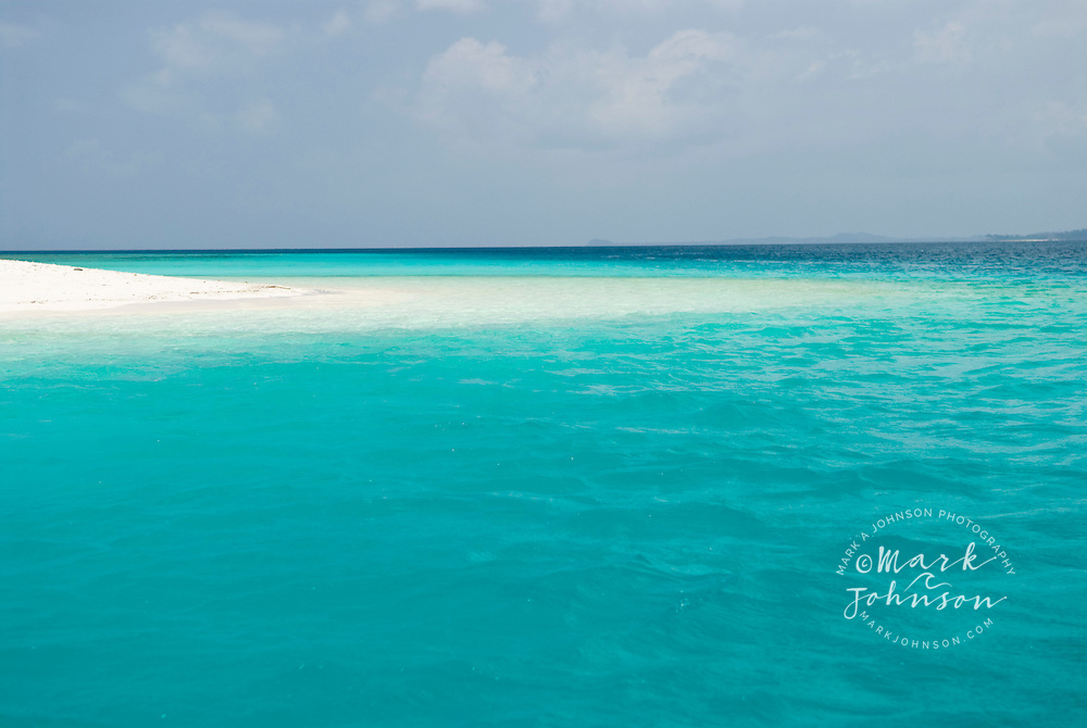 Beautiful beach on tropical island in the Mentawai Islands, Indonesia