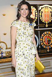 April 30, 2016 - Stockholm, Sweden - Crown princess Mary ..Banquet in connection with The King's birthday, Royal Palace, Stockholm, 2016-04-30..(c) Karin Törnblom / IBL....Bankett med anledning av Kungens födelsedag, Kunliga slottet, Stockholm, 2016-04-30 (Credit Image: © Karin TöRnblom/IBL via ZUMA Press)