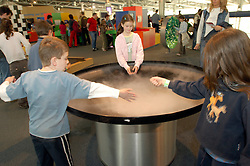 MECHELEN, BELGIUM - APRIL-14-2006 - Children's hands-on science and technology exhibit at Technopolis. (Photo © Jock Fistick)