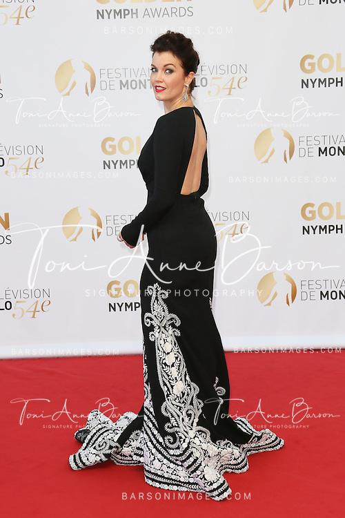 MONTE-CARLO, MONACO - JUNE 11:  Bellamy Young  attends the Closing Ceremony and Golden Nymph Awards of the 54th Monte Carlo TV Festival on June 11, 2014 in Monte-Carlo, Monaco.  (Photo by Tony Barson/FilmMagic)