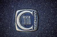 France - Bouche du Rhone -Aix en province - Signalisation au sol sur les tracs de cezanne