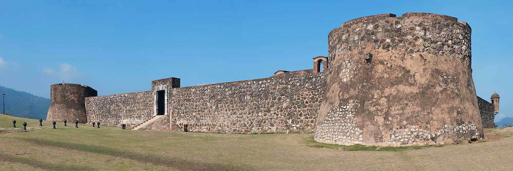 Old Spanish Fort,Museo Fortaleza Colonial San Felipel,Puerto Plata, Dominican Republic, Caribbean