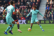 Alex Iwobi (17) of Arsenal during the Premier League match between Bournemouth and Arsenal at the Vitality Stadium, Bournemouth, England on 25 November 2018.