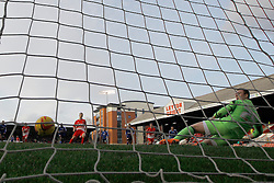 Orient's Lloyd James scores a goal from a penalty - Photo mandatory by-line: Mitchell Gunn/JMP - Tel: Mobile: 07966 386802 22/02/2014 - SPORT - FOOTBALL - Brisbane Road - Leyton - Leyton Orient V Swindon Town - League One