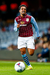 Kieran Richardson of Aston Villa in action - Photo mandatory by-line: Rogan Thomson/JMP - 07966 386802 - 27/08/2014 - SPORT - FOOTBALL - Villa Park, Birmingham - Aston Villa v Leyton Orient - Capital One Cup Round 2.