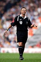 Photo: Glyn Thomas.<br />Liverpool v Blackburn Rovers. The Barclays Premiership.<br />15/10/2005.<br />Referee Mark Halsey.