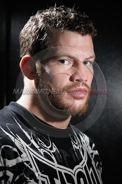 """A portrait of mixed martial arts athlete Nate """"The Great"""" Marquardt"""